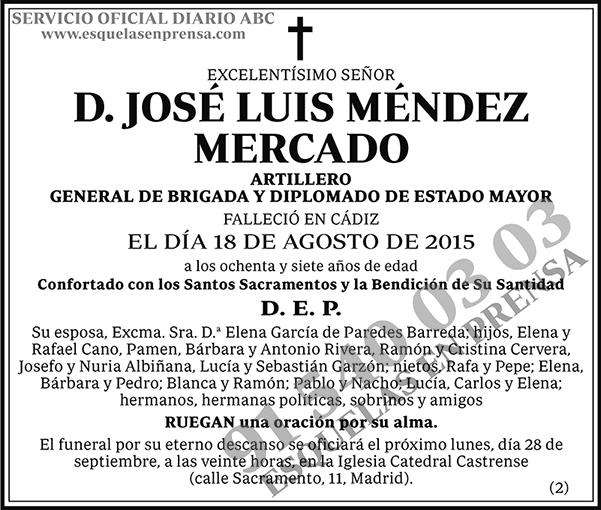 José Luis Méndez Mercado